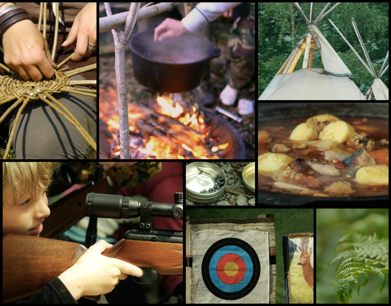 The Bushcraft Show 2011 Montage