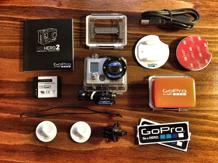 GoPro HERO2 Surf Kit Edition