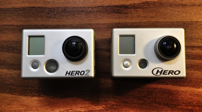 GoPro HERO comparison