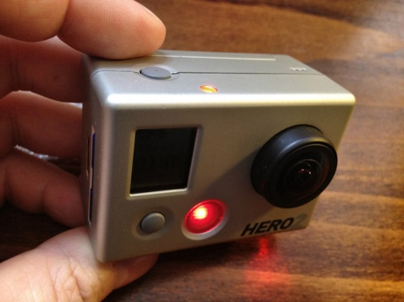 HERO2 recording lights