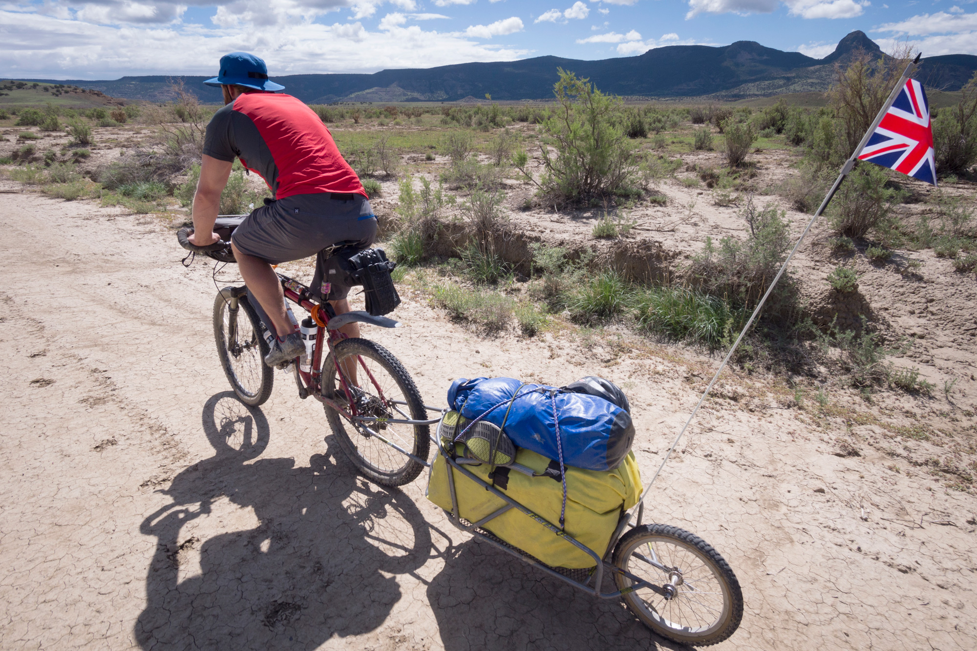 Cycling Great Divide in New Mexico