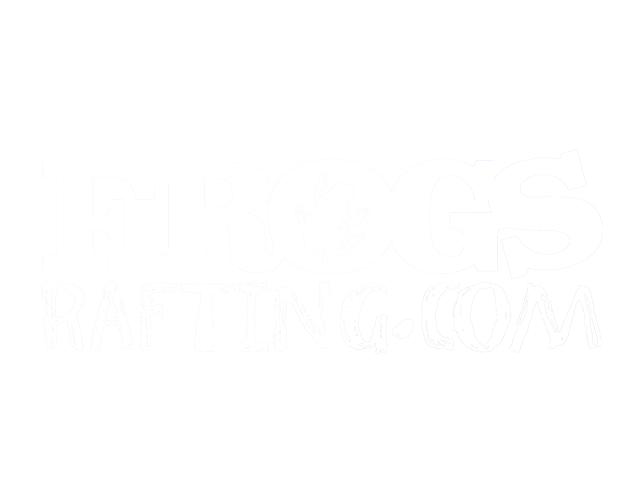 frogs rafting logo