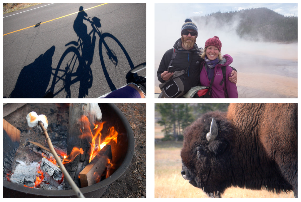 photos from Cycling in Yellowstone