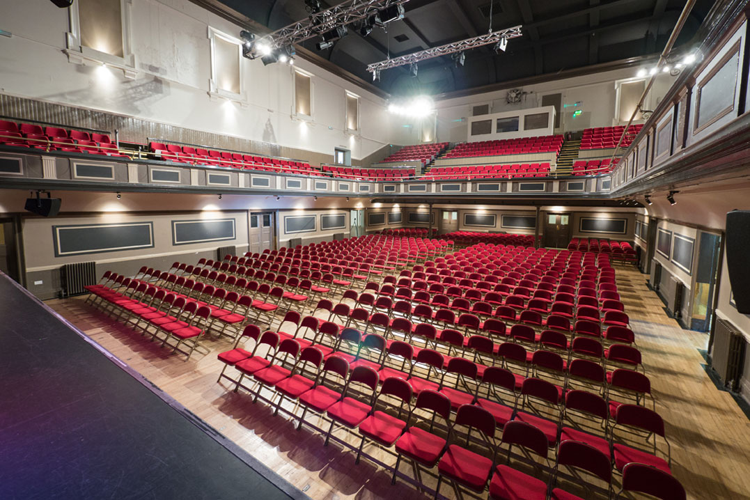 Inside the Parr Hall Warrington