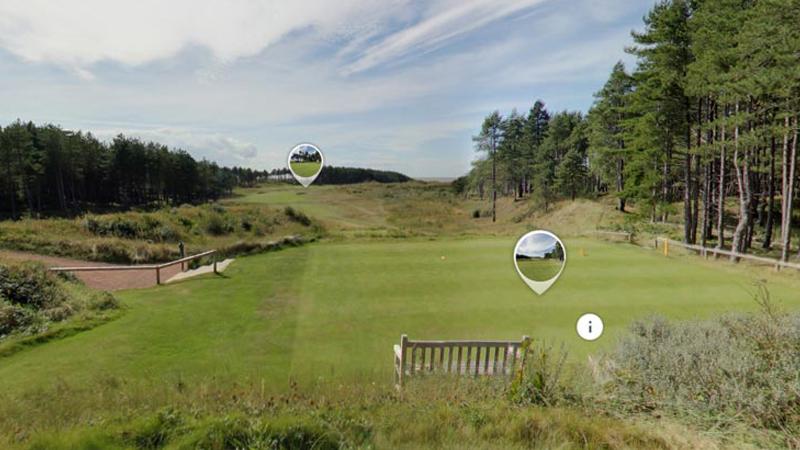 Golf Club Scenery